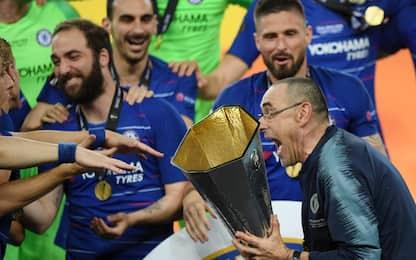 Europa League, Chelsea-Arsenal 4-1. Primo trofeo Sarri. FOTO