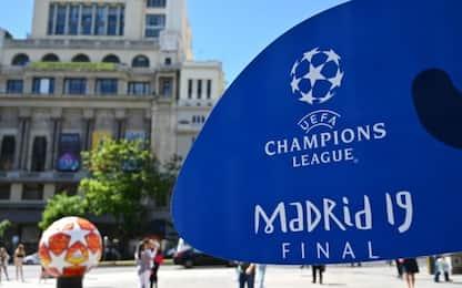Champions, Madrid si prepara alla finale Tottenham-Liverpool