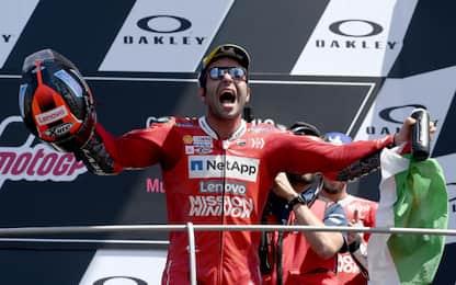 MotoGp: Petrucci trionfa al Mugello nel Gp d'Italia, secondo Marquez