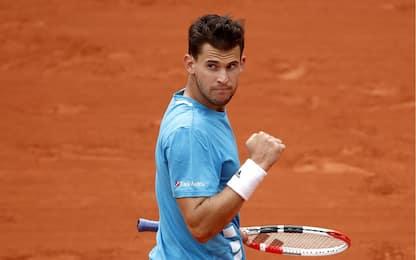 Roland Garros, Thiem batte Djokovic e trova in finale Nadal