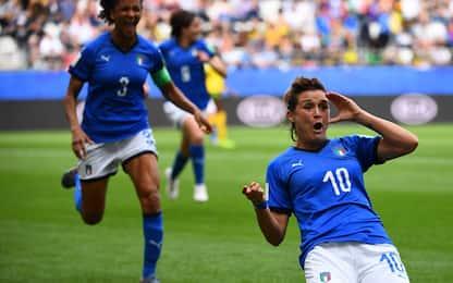 Cristiana Girelli: Brescia, Juve e Nazionale. FOTOSTORIA