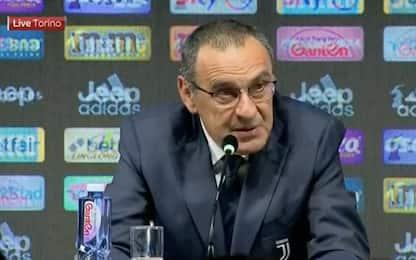 Maurizio Sarri ha la polmonite: il debutto a Parma è a rischio