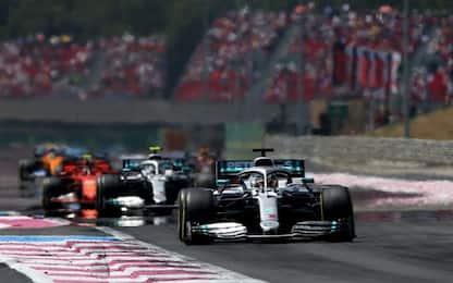 F1, Gp Francia: vince Hamilton davanti a Bottas e Leclerc