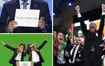 Olimpiadi 2026 assegnate a Milano-Cortina: è ufficiale