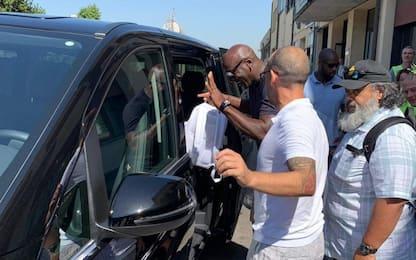 Michael Jordan a Firenze visita gli Uffizi