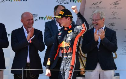 F1, GP Austria: vince Verstappen davanti a Leclerc