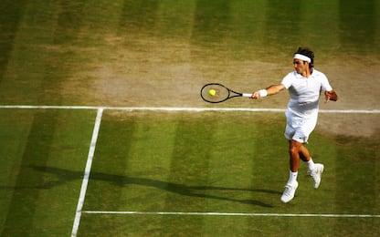 Wimbledon, i dieci tennisti più vincenti. FOTO