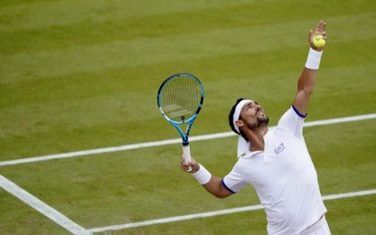 "Wimbledon, Fognini:  ""Maledetti inglesi, scoppiasse una bomba..."""