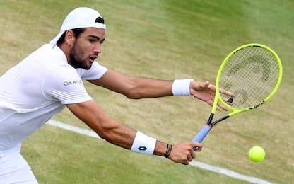 Wimbledon, Berrettini vola agli ottavi: sfiderà Federer