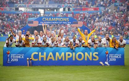 Mondiali di calcio femminile, la finale Usa-Olanda: 2-0