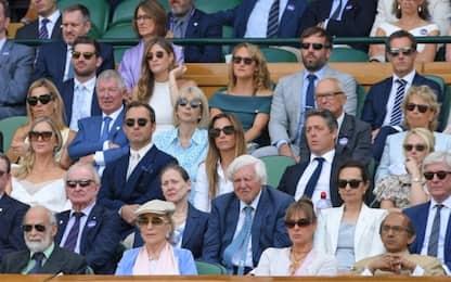 Da Jude Law a Hugh Grant: i vip alle semifinali di Wimbledon