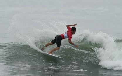 Giappone, i surfisti si preparano a Tokyo 2020
