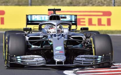 F1, Gp d'Ungheria: vince Hamilton davanti a Verstappen