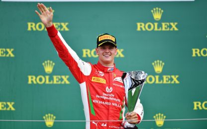 F2, Schumacher Jr vince in Ungheria prima gara 15 anni dopo il padre