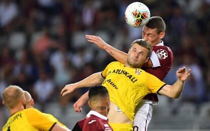 Europa League, Torino-Shakhtyor Soligorsk 5-0. Gol e highlights