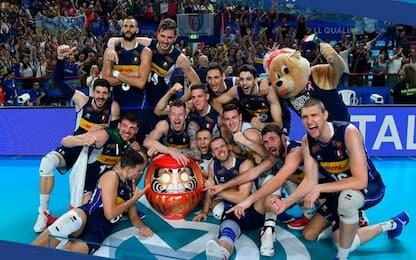 Volley, l'Italia maschile qualificata per Tokyo 2020