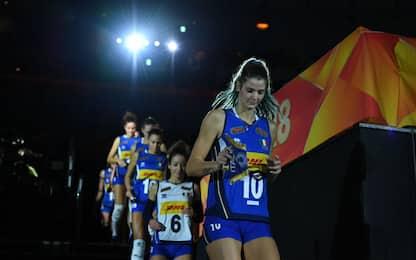 Europei pallavolo 2019, ecco la nazionale italiana femminile