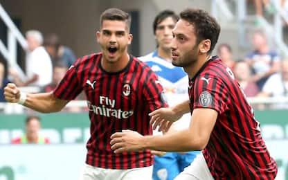 Milan-Brescia 1-0: video, gol e highlights della partita di Serie A
