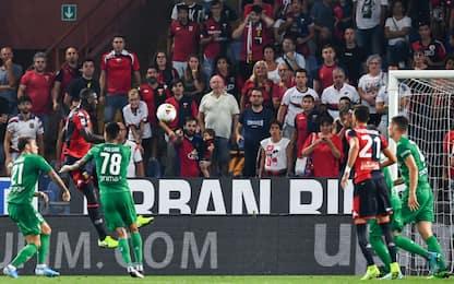 Genoa-Fiorentina 2-1: video, gol e highlights della partita di Serie A