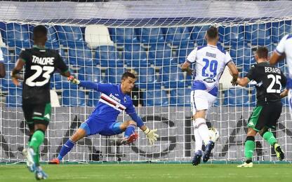 Sassuolo-Samp 4-1: video, gol e highlights della partita di Serie A
