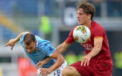 Lazio-Roma 1-1: video, gol e highlights della partita di Serie A
