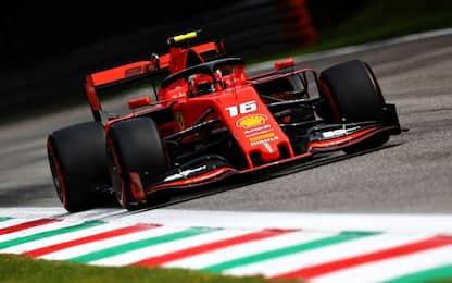 F1, qualifiche Gp Italia: a Monza è pole per Leclerc