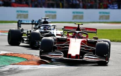 F1, GP Italia: a Monza trionfa Leclerc. FOTO