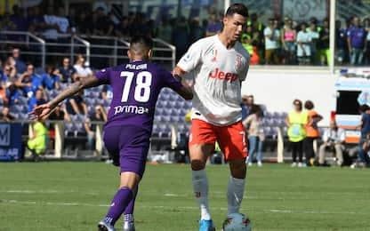 Fiorentina-Juventus 0-0: video e highlights della partita di Serie A