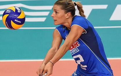 """Pallavolo, l'annuncio di Francesca Piccinini: """"Mi ritiro"""""""