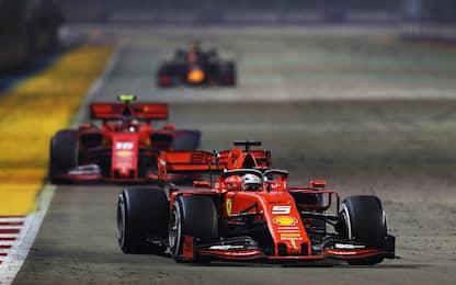 Formula 1, Gp Singapore, vince Vettel: video highlights della gara