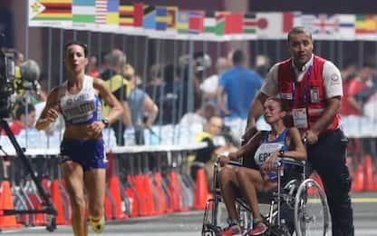 Doha, Mondiali Atletica, caldo alla maratona: atlete ko