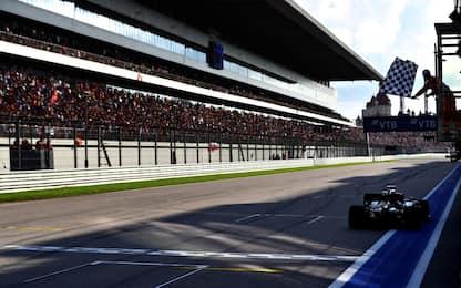F1, GP Russia: a Sochi vince Hamilton. FOTO