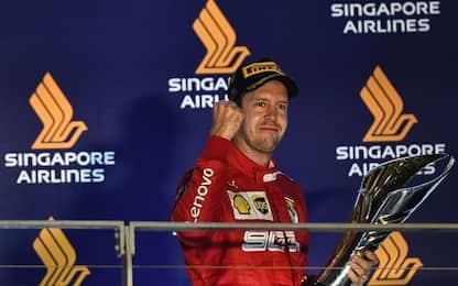 Sebastian Vettel: tutte le foto del pilota tedesco
