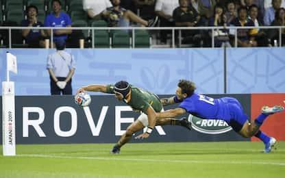 Mondiali di rugby, l'Italia travolta dal Sudafrica per 49-3