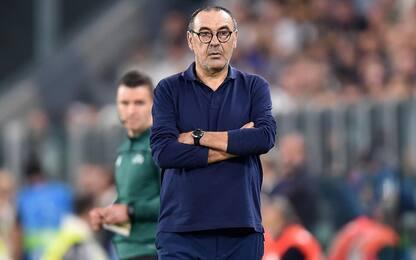 """Inter-Juventus, Sarri: """"Grande gara, ma vale zero per lo scudetto"""""""