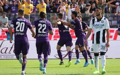 Fiorentina-Udinese 1-0: video, gol, highlights della partita di SerieA