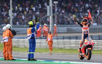 MotoGP, GP Thailandia: vince Marquez, è campione del mondo