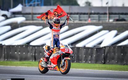 MotoGp, Gp Thailandia: vince Marquez. Video highlights della gara