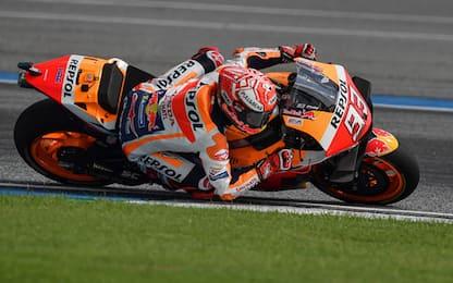 MotoGp, Gp Motegi: Marquez conquista la pole in Giappone. VIDEO