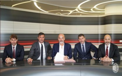 Milan, ecco Pioli: il tecnico firma un contratto biennale