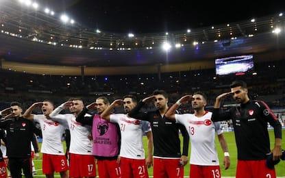 Saluto militare giocatori Turchia, Uefa apre indagine