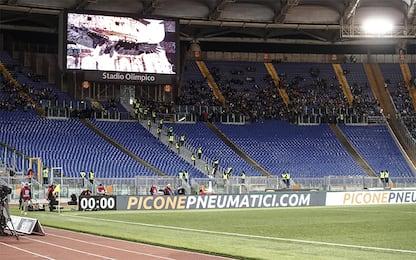 Lazio, chiusa la Curva Nord per razzismo