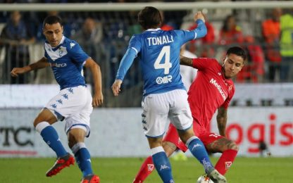 Brescia-Fiorentina 0-0: video e highlights della partita di serie A