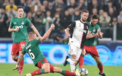Champions, le foto di Juve-Lokomotiv e City-Atalanta