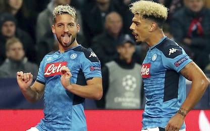 Napoli, Mertens supera Maradona con 116 reti in maglia azzurra. VIDEO