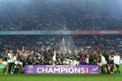 Rugby, Sudafrica campione del mondo: Inghilterra ko