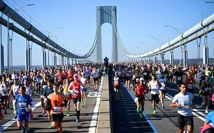 Maratona di New York: oltre 50mila i runners. FOTO