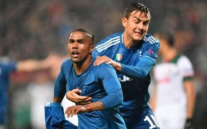 Champions, Lokomotiv Mosca-Juventus 1-2: gol e highlights. VIDEO
