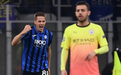Champions, Atalanta-Manchester City 1-1: gol e highlights: VIDEO