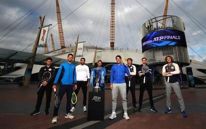 Atp Finals, i migliori otto tennisti dell'anno si sfidano